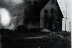 incendie de l'église