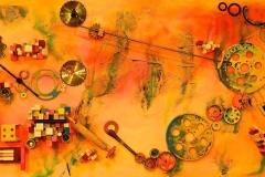Oeuvre collective «La mécanique du coeur»